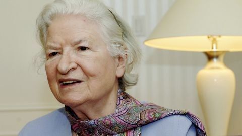 "British crime novelist <a href=""http://www.cnn.com/2014/11/27/showbiz/obit-pd-james/index.html"" target=""_blank"">P.D. James</a> died November 27 at her home in Oxford, England. She was 94."