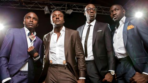 """Kenya-based afropop group Sauti Sol, which is made up of Bien-Aime Baraza, Willis Austin Chimano, Savara Mudigi and Polycarp Otieno, tops the list of <a href=""""http://edition.cnn.com/2014/12/17/world/africa/mdundo-african-download-site/"""" target=""""_blank"""">streaming service Mdundo</a>'s most downloaded artists."""