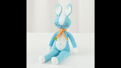 """DIY expert Kathy Beymer, founder of the craft site <a href=""""http://www.merrimentdesign.com"""" target=""""_blank"""" target=""""_blank"""">Merriment Design</a> and a mom of two, suggests these Knit Crowd dolls from Land of Nod. There are bunnies, mermaids, fairies, ballerinas, cats, monkeys and more. """"I really like to include some gifts that look like Santa's elves could have made them by hand,"""" said Beymer. """"Last year I had the ballerina doll inside my daughter's stocking with her head peeking out and it really set the tone for our Christmas morning."""" ($29.00 for 14"""" size)"""