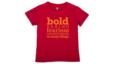 """If I could buy """"Girls Will Be"""" shirts for every tween girl I know, I would. There's no girly here, no pink and ruffles for that matter, but plenty of empowering messages and themes, including outer space, robots, martial arts, sharks and more. My 8-year-old won't wear any other kind of shirt, so I know at least one gift I'm getting her this year! ($24)"""