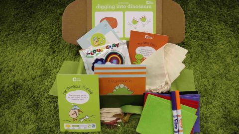 If you are looking for a gift to keep kids busy and tap into their creative engines, Kiwi Crate may be for you. Inside the darling green boxes are all the materials and inspiration for two to three activities including art, science, games, imaginative play and more. Buy a subscription and watch the little one in your life marvel every time the crates with new crafts inside arrive. (Starting at $19.95)