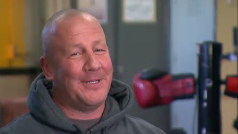 """Jack Mook, a Pittsburgh police detective, befriended two boys several years ago at a boxing gym where he coached. After he discovered that the boys, who are brothers, were living in foster care and on the streets, <a href=""""http://abcnews.go.com/US/pennsylvania-boxing-coach-adopts-poverty-stricken-brothers/story?id=26733898"""" target=""""_blank"""" target=""""_blank"""">he adopted them in September</a>. Mook is single and raising the boys himself."""
