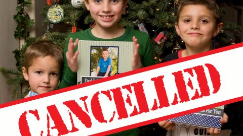 Christmas was canceled when the Henderson boys wouldn't behave