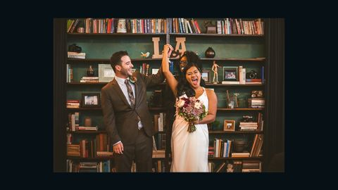 Anthony and Laarne Palec were married November 19, 2014, in Riverside, California.