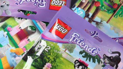 Lego's Friends toys were created to appeal to girls.