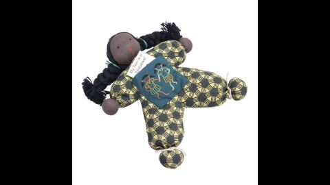 """<a href=""""http://www.tenthousandvillages.com/"""" target=""""_blank"""" target=""""_blank"""">Ten Thousand Villages</a> offers goods from local artisans in 28 different countries. This """"twin girl doll"""" provides you with a gift for a loved one and a  """"twin"""" for a child in a family affected by HIV/AIDS in Zimbabwe."""
