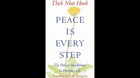 """It's possible to find peace in washing the dishes, walking the dog and having a cup of tea. So says <a href=""""http://plumvillage.org/about/thich-nhat-hanh/"""" target=""""_blank"""" target=""""_blank"""">Zen Master Thich Nhat Hanh</a>, a Vietnamese Buddhist monk, who has been key in bringing the principles of Buddhism and meditation to the west. His classic """"Peace is every step"""" is one way toward peace."""