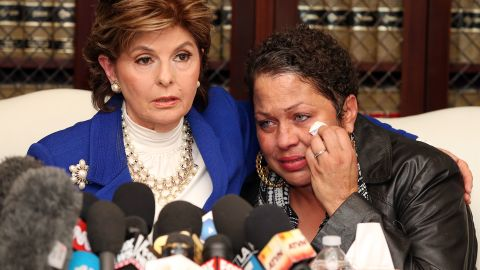 """Identifying herself only by a first name during a news conference with lawyer Gloria Allred, Chelan said she was a 17-year-old aspiring model who worked at the Las Vegas Hilton when her father's wife sent pictures of her to Cosby. She said Cosby arranged to meet her at the Vegas Hilton """"to introduce me to someone from the Ford modeling agency.""""  During that meeting, she said, Cosby gave her """"a blue pill, which he said was an antihistamine, with a double shot of Amaretto."""" She alleged that Cosby lay down next to her on the bed and began touching her sexually and grunting."""