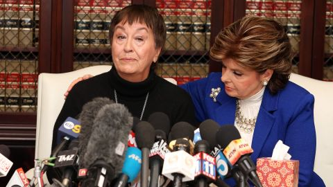 """In a statement released through lawyer Gloria Allred's office, Helen Hayes alleged that Cosby followed her and two friends """"around all day"""" at a summer 1973 celebrity tennis tournament in Pebble Beach, California, hosted by actor Clint Eastwood. Hayes claimed she and her friends tried to avoid Cosby, but he caught up with them in a restaurant, """"approached me from behind and reached over my shoulder and grabbed my right breast."""" """"I was stunned and angry, because he had no right to do that and I did not know why he would behave that way,"""" Hayes said. """"His behavior was like that of a predator."""""""