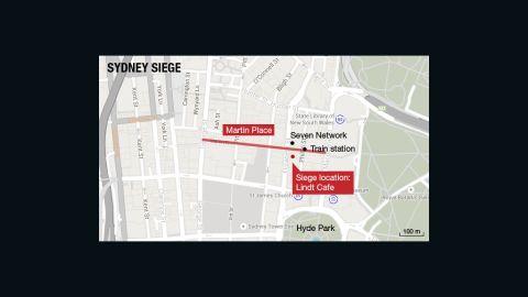 MAP: Sydney CBD