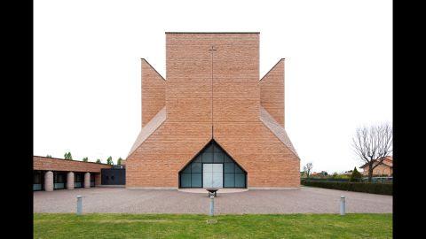 Botta designed the Church Pope John XXIII, which is in Seriate, Italy.