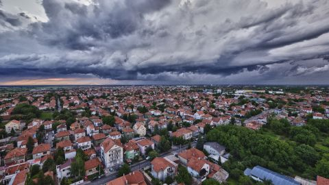 """Dragan Trifunovic, the owner/pilot of <a href=""""http://www.helivideo.rs/"""" target=""""_blank"""" target=""""_blank"""">Helivideo</a>, uses a camera-mounted drone to capture Belgrade's scenery from above."""