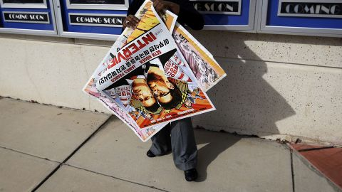 """December 18 -- Sony decided to cancel the release of """"The Interview,"""" a decision that sparked outrage among celebrities and politicians. A movie theater in Texas announced they would offer a free screening of Team America -- which features the leader's father Kim Jong Il -- instead until Paramount shut that down too. Sony also downplayed the possibility that the film could be released online."""