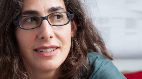 """Sarah Koenig hosts the popular podcast """"Serial,"""" which in its first season covered a 1999 murder."""