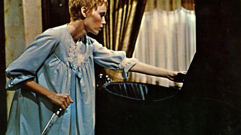 "Director Roman Polanski's 1968 film version of ""Rosemary's Baby"" stars Mia Farrow as an upscale New Yorker impregnated by Satan."
