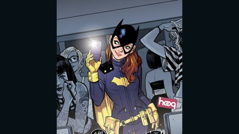 DC's Batgirl, a.k.a. Barbara Gordon, made her first appearance in 1967 and got a new look in 2014.