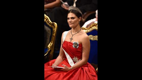 Crown Princess Victoria of Sweden has given birth, the country's marshal of the realm announced Wednesday.