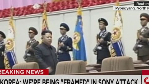 newday sot north korea claims innocence sony hack_00003809.jpg