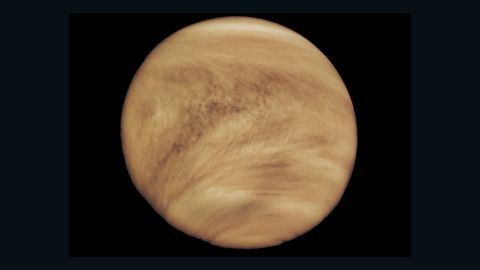 The planet is constantly shrouded in thick clouds and a runaway greenhouse effect is ongoing.