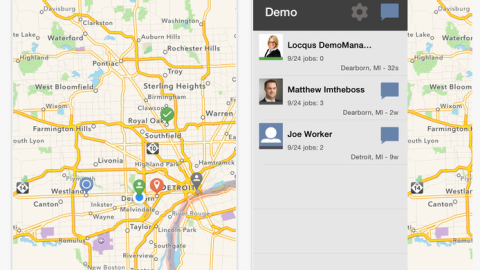 With Locqus, staff can manage their workforce from their cell phone. Create jobs and assign them to employees: these tasks will then show up in their schedule.