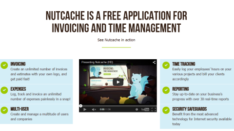 Nutchache enables invoicing, expenses and time tracking for employees. The app is free to use, and has become a hit with business owners thanks to its array of different functions.