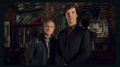 """""""Sherlock: The Abominable Bride"""" joined """"All the Way,"""" """"Confirmation,"""" """"Luther"""" and <br />""""A Very Murray Christmas"""" as the nominees in the TV movie category."""
