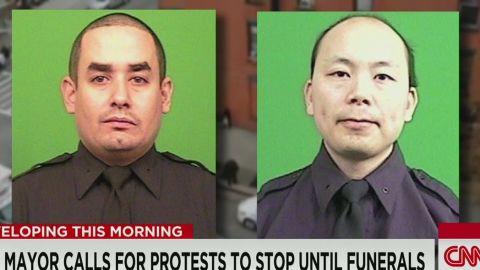 newday pkg field nyc de blasio pleads for calm police shooting_00000801.jpg