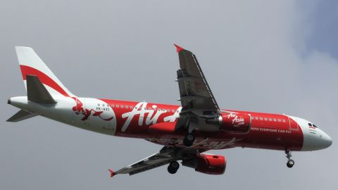 A November 2010 file image of the missing AirAsia Airbus A320-200