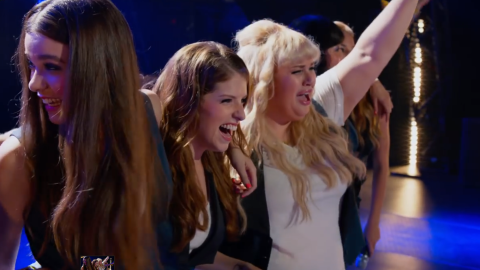 """One of the surprise hits of 2012 was """"Pitch Perfect,"""" starring Anna Kendrick, center, and Rebel Wilson, right, as singers in a college a cappella group. Naturally, there's now a sequel, """"Pitch Perfect 2,"""" which finds the group entering a worldwide competition. Elizabeth Banks, who played a commentator in the first film, directed. It opened May 15."""