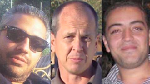 Three Al Jazeera journalists