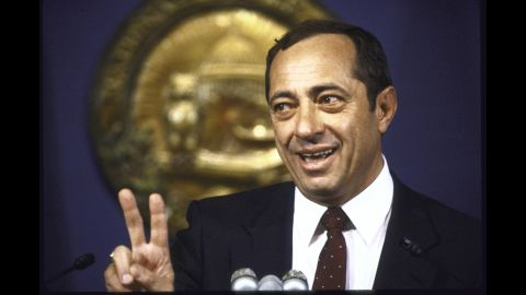 Coumo speaks at the National Press Club in 1985.