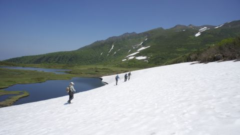 Japan's northernmost island is roughly the size of Austria. A complete tour of the Hokkaido Nature Trail takes seven months and is best divided by either side of winter.
