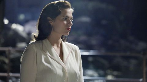 """Set in the post-World War II years, the new series """"Marvel's Agent Carter"""" follows the continuing adventures of Peggy Carter, after the presumed death of her boyfriend Steve Rogers (a.k.a. Captain America)."""