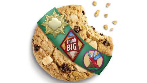 <strong>Rah-Rah Raisins</strong> is an oatmeal raisin cookie with Greek yogurt-flavored chunks.