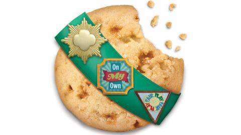 The Girl Scouts of the USA announced today that they would release three new flavors of cookies for 2015.  <strong>Toffee-tastic</strong>, a buttery cookie with toffee bits, is one of two new gluten-free varieties.