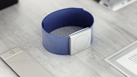 """The """"Embrace"""" smartwatch."""