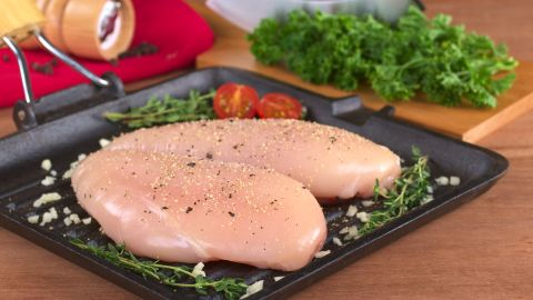 Poultry is on the MIND diet menu, two or more servings a week. Stick with baked, grilled or broiled, but skip the fried.