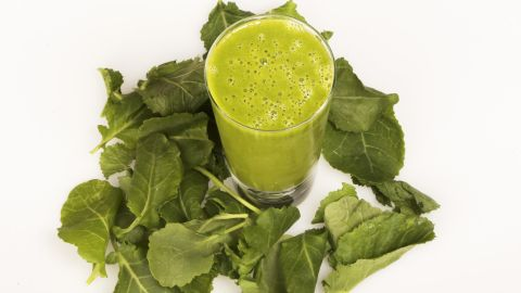 """""""Zero belly drinks,"""" drinks that are essentially plant-based smoothies that include protein, healthy fat and fiber, contain resveratrol that can fight inflammation, says David Zinczenko, co-author of """"Eat This, Not That!"""" <a href=""""http://lpi.oregonstate.edu/infocenter/phytochemicals/resveratrol/"""" target=""""_blank"""" target=""""_blank"""">Resveratrol</a> can be found in abundance in red fruits, peanut butter and dark chocolate."""