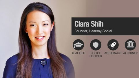 CNN asked successful women, such as Clara Shih (named as one of Fortune's Most Powerful Women Entrepreneurs), to reveal their childhood dream jobs.