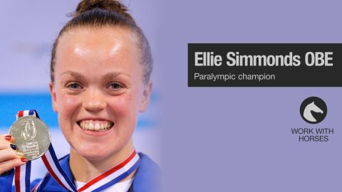 Ellie Simmonds is a British Paralympic swimming champion who holds ten world records.