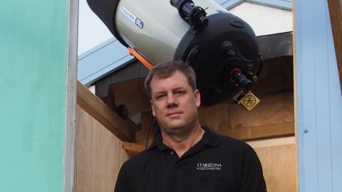 Amateur astronomer Terry Lovejoy has discovered five comets.