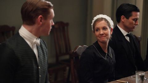 """<strong>Best supporting actress in a series, miniseries or TV film:</strong> Joanne Froggatt, """"Downton Abbey"""""""