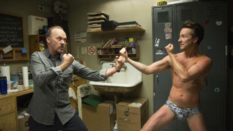 "<strong>Best screenplay:</strong> Alejandro Gonzalez Inarritu, ""Birdman"""