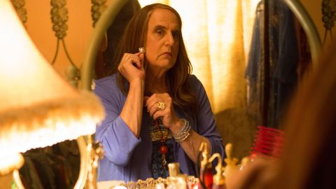 """Actor Jeffrey Tambor portrays a divorced father who begins transitioning to a woman in the Amazon series """"Transparent,"""" which debuted in February 2014. For his performance, Tambor won a Golden Globe for best actor in a TV musical or comedy series."""