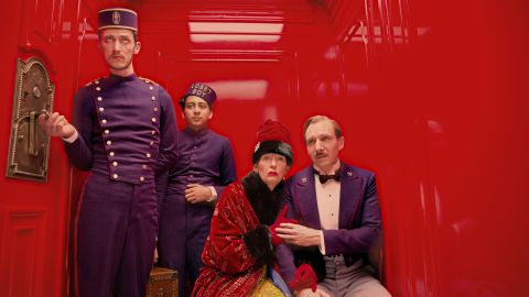 """<strong>Best motion picture -- musical or comedy:</strong> """"The Grand Budapest Hotel"""""""