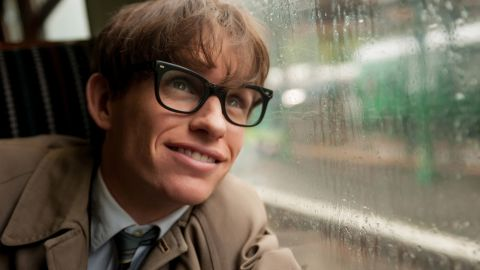 """<strong>Best actor in a motion picture -- drama:</strong> Eddie Redmayne, """"The Theory of Everything"""""""