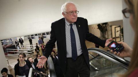 Sen. Bernie Sanders is mulling a presidential bid.