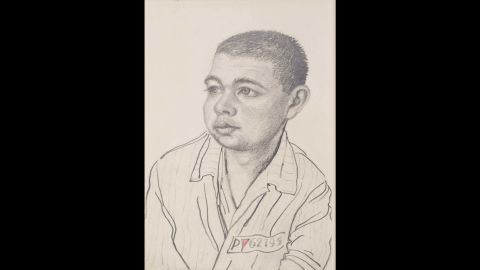 The Auschwitz-Birkenau State Museum's collection of art includes work that prisoners secretly made while in Auschwitz. The museum has more than 100 portraits by Franciszek Jaźwiecki, a Polish artist and political prisoner.