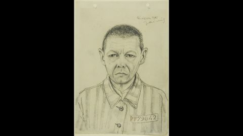 His portraits portrayed prisoners of various nationalities and ages, and they shared a similar haunting quality, according to Agnieszka Sieradzka, an art historian at the museum.