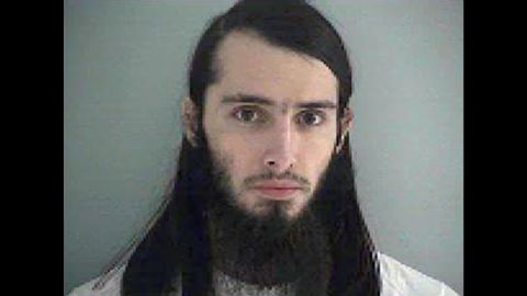 A mug shot of Christopher Lee Cornell in the Butler County Jail in Ohio.